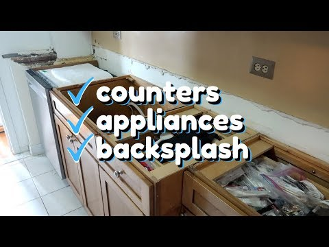 Our Budget Friendly Kitchen Makeover | Galley Kitchen Remodel Step by Step