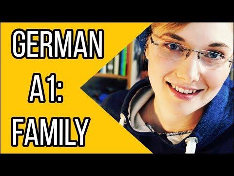 Talk About Your Family In German | Learn German Vocabulary | Deutsch Für Euch - Episode 42: