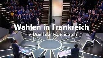 Wahlen in Frankreich: Das erste TV-Duell