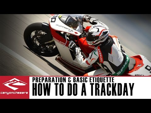How to do a Motorcycle Trackday - Preparation and Track Etiquette