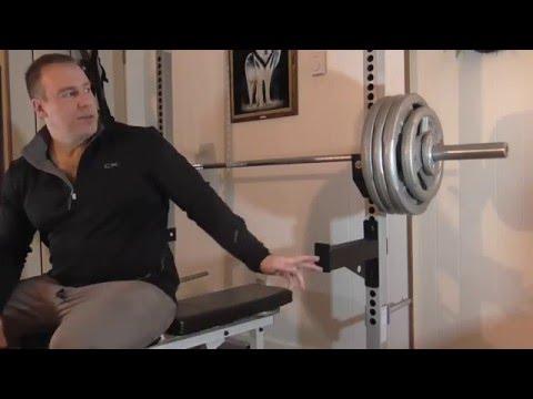 Doug Hepburn Bench Press Routine