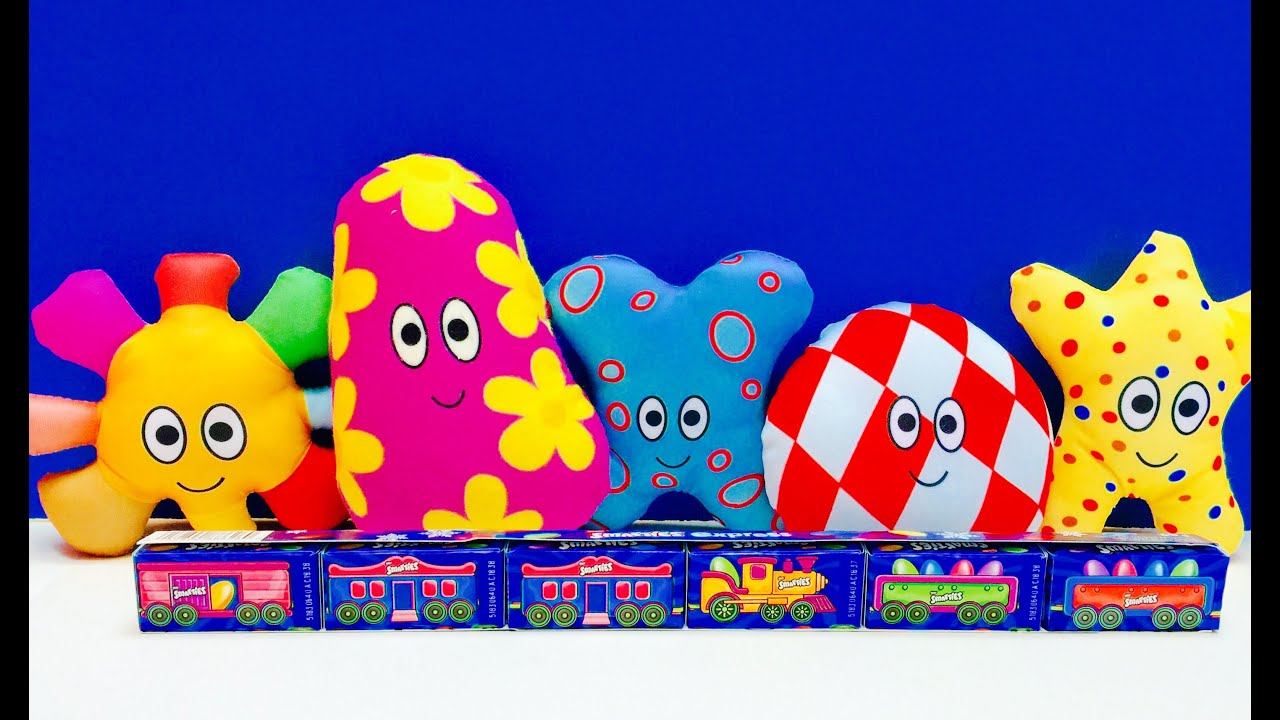 Smarties Candy Ninky Nonk Train HaaHoos Toys