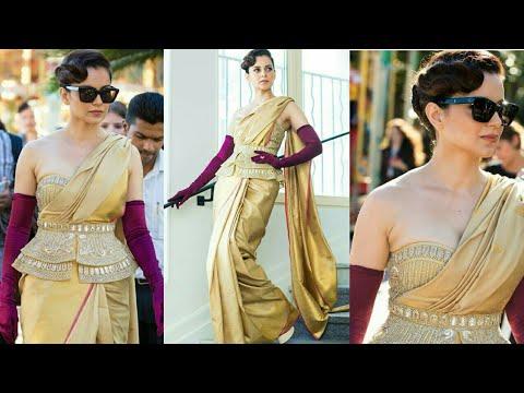Kangana Ranaut In A Saree At Cannes 2019 | Cannes Film Festival 2019 | *Exclusive* | Kangana Ranaut Mp3