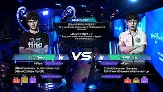 Neeb vs 조성호 케스파컵 결승전 1세트 [16.10.03] 2016 스타크래프트 II KeSPA CUP