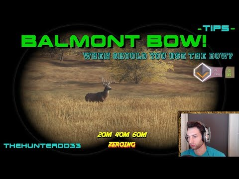CALL OF THE WILD  Go With The Bow!!  THEHUNTER  2017