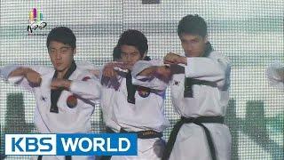 K-Pop World Festival 2014 | K Tiger - Taekwon Performance Show (태권 퍼포먼스 쇼)