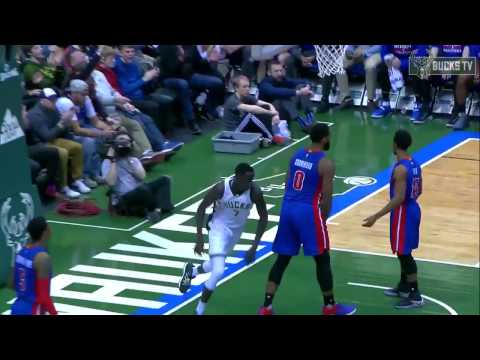 Thon Maker career high with 23 points vs Detroit Pistons