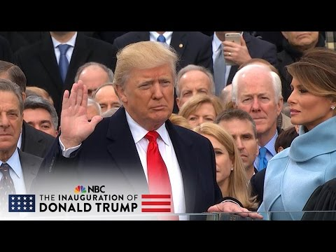Thumbnail: The 58th Presidential Inauguration of Donald J. Trump (Full Video) | NBC News
