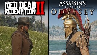 Red Dead Redemption 2 vs Assassin's Creed: Odyssey | Direct Comparison