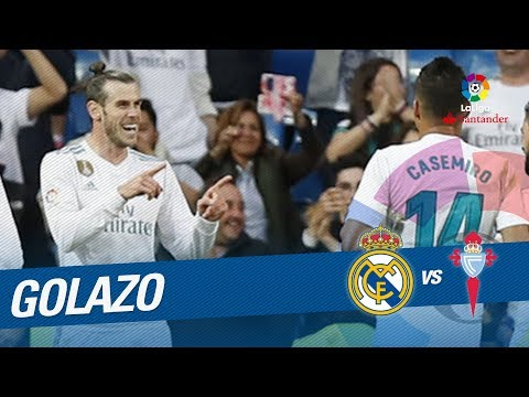 Golazo de Bale (2-0) Real Madrid vs RC Celta