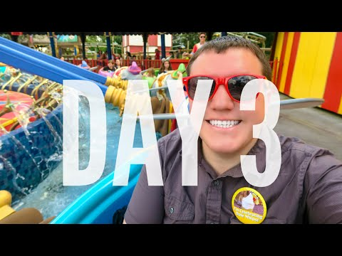 DISNEY WORLD 2015 VLOG: DAY 3 - MAGIC KINGDOM/EPCOT
