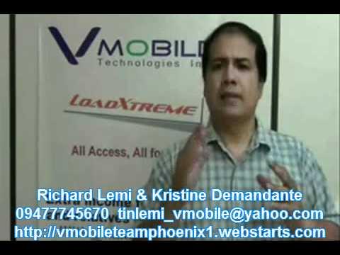 Vmobile para sa mga OFW saan mang panig ng mundo by Team Phoenix