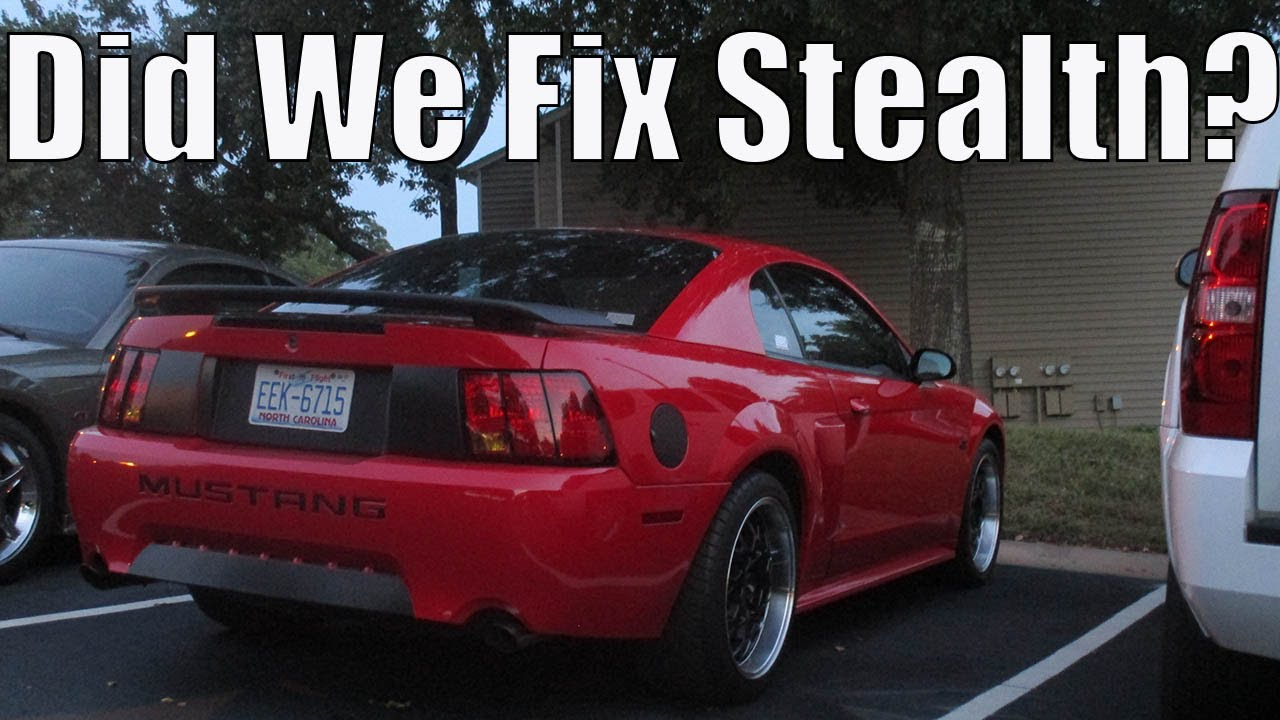 2003 mustang gt | changing the fuel filter
