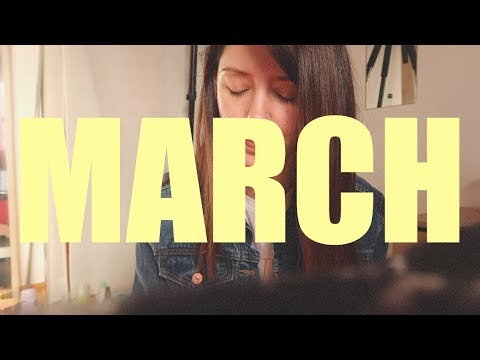 The one where I march for abortion rights | MARCH MONTHLY VLOG