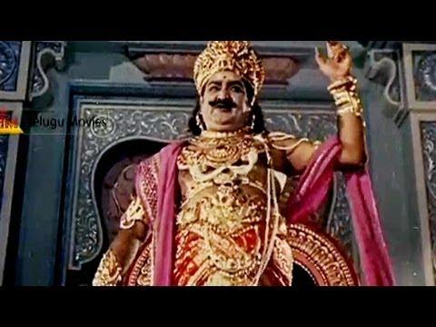 S.V.Ranga Rao Extraordinary Dialogues In Bhaktha Prahlada Movie