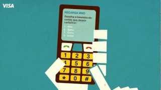 Cadastro e Recarga celular- Visa e Vivo