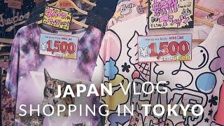 Japan Vlog - Tokyo shopping in Shinjuku, Harajuku, Shibuya and Akihabara