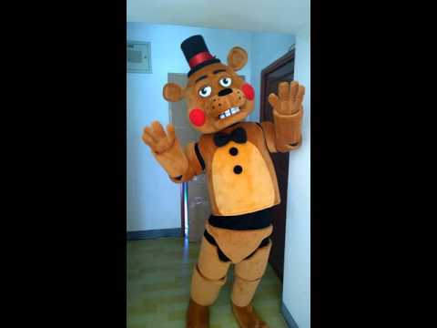 Toy freddy fazbear mascot costume youtube