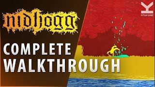 Nidhogg - COMPLETE Walkthrough - Gameplay