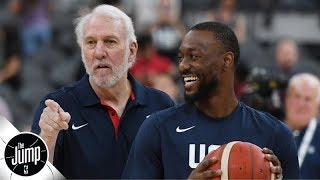 Reacting to Kemba Walker's Team USA comments: Is the U.S. really an underdog? | The Jump