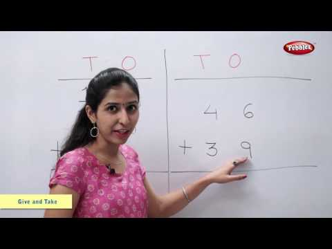 Addition of Numbers with Carrying | Maths For Class 2 | Maths Basics For CBSE Children