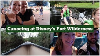 Canoeing at Fort Wilderness and Backstage Tour of Spaceship Earth  l  Disney CRP  l  aclaireytale