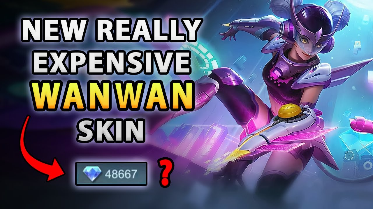 This New Expensive Wanwan Skin It's Pretty Nice   Mobile Legends