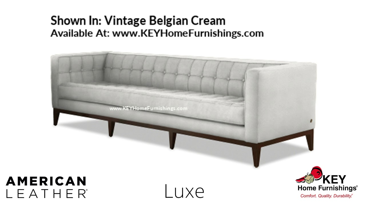 The Luxe Sofa | American Leather Cover Gallery – Fabric & Leather |  Portland 2018