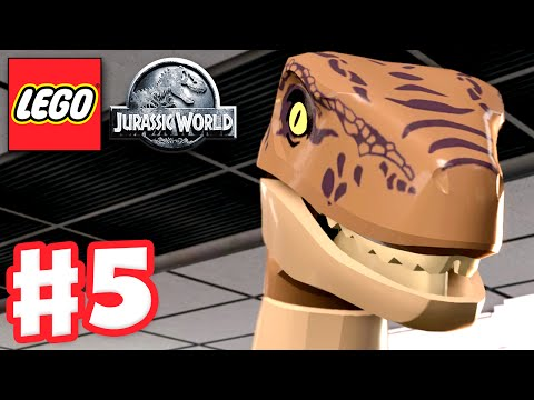 LEGO Jurassic World - Gameplay Walkthrough Part 5 - The Visitor Center! (PC) poster