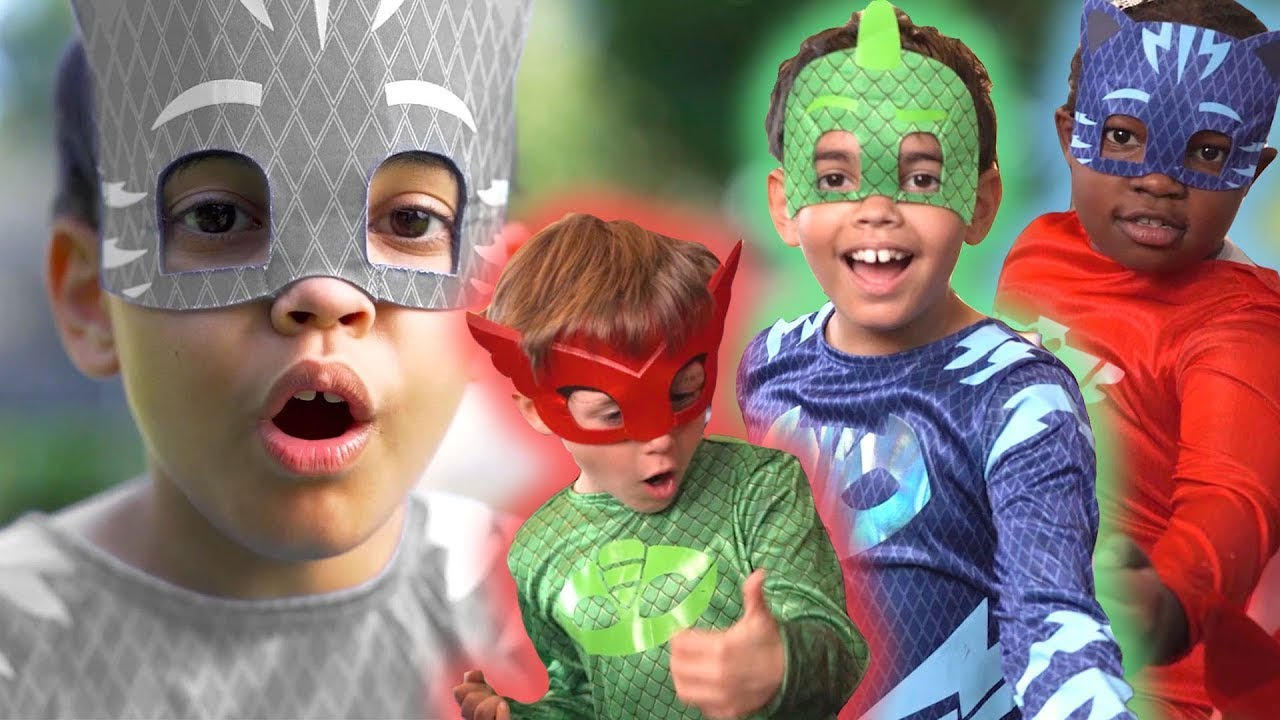 PJ Masks in Real Life Full Episodes ⭐️  BOO BOO, Wrong Colors, Slime Rescue | PJ Masks