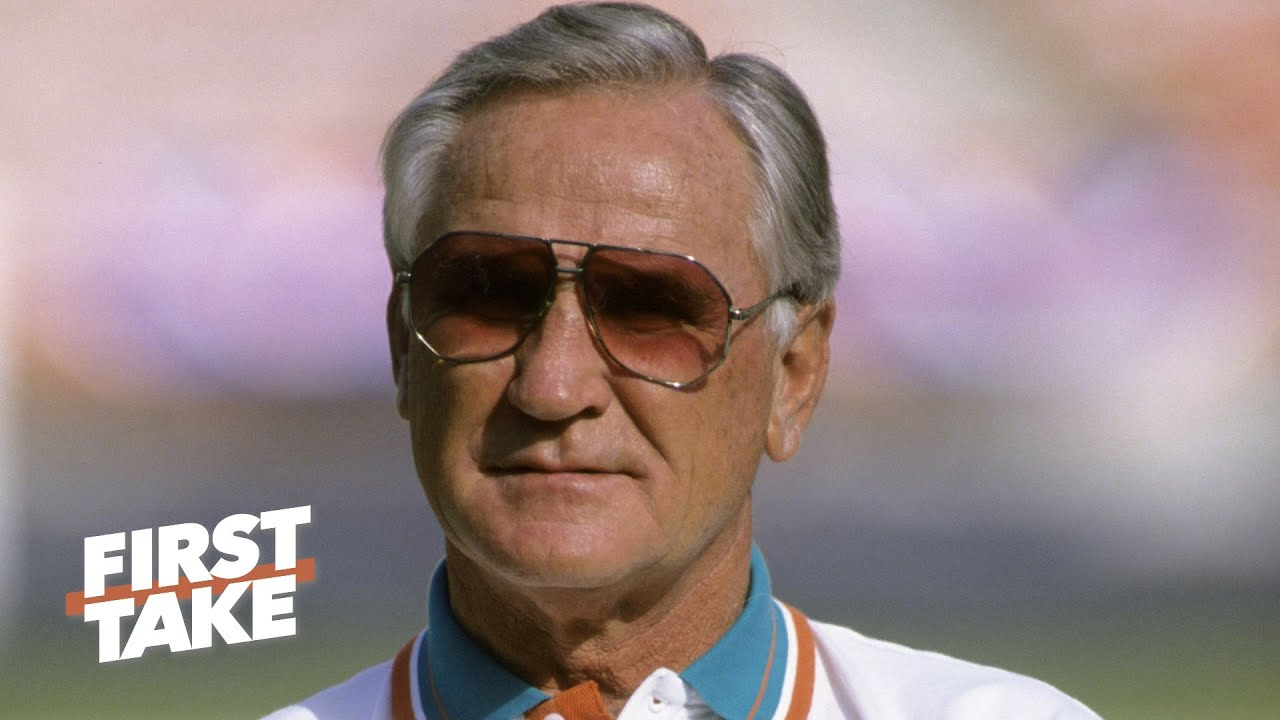 Dolphins Hall of Fame coach Don Shula dies at 90