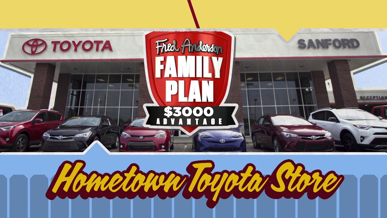 Fred Anderson Toyota Of Sanford   Backyard