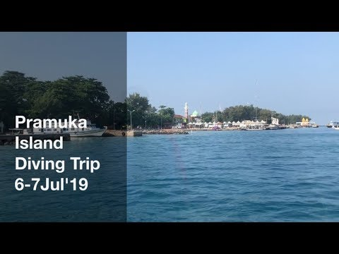 PRAMUKA ISLAND DIVING TRIP 6-7Jul'19 with HOBBY DIVE