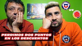 REACCIONES | Chile vs Colombia | PERDIMOS 2 PUNTOS EN LOS DESCUENTOS