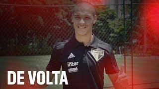 ANTONY DE VOLTA + TREINO NO REFFIS   SPFCTV
