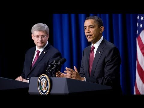 President Obama and Prime Minister Harper Press Conference