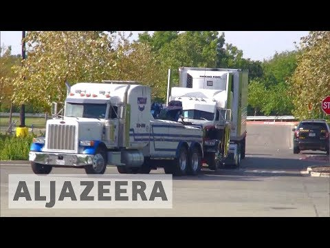Al Jazeera English: US lorry driver charged after nine died in immigrant-smuggling bid