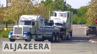 US lorry driver charged after nine died in immigrant-smuggling bid