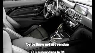 Bmw m4 occasion visible à Beaupuy présentée par Carprivileges