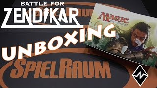 Battle for Zendikar  - Display Unboxing - SpielRaum Wien [DE]