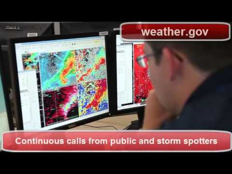 NWS Norman OK Operations During Moore OK Tornado
