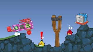 Bad Piggies - ZOMBIE TAKING CRATE AFTER FOOLING ANGRY BIRDS!