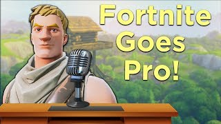 Fortnite with an eSports Commentator! DESTROYING DUO