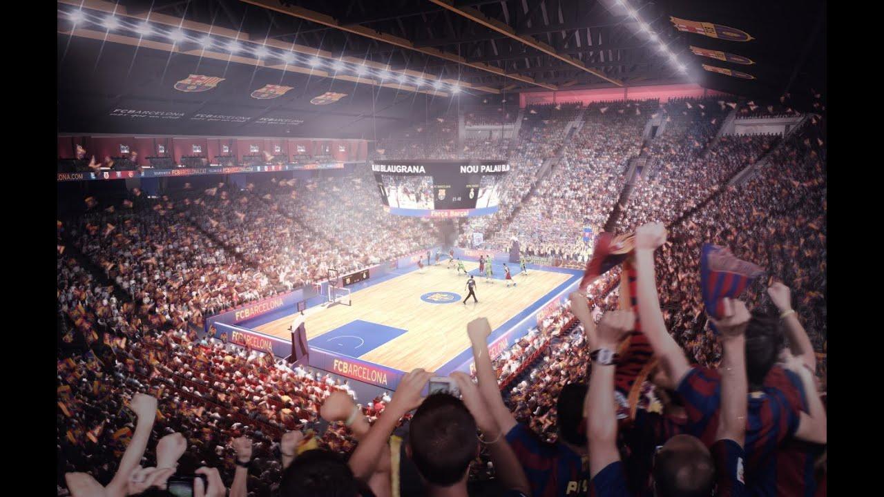 Así será el nuevo y espectacular Palau Blaugrana de baloncesto