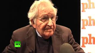 'Take a look at Trump... is he anti-establishment?' - Noam Chomsky to RT