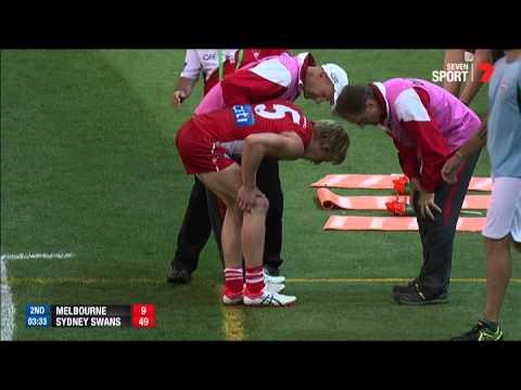 Crushing blow for Isaac Heeney - AFL