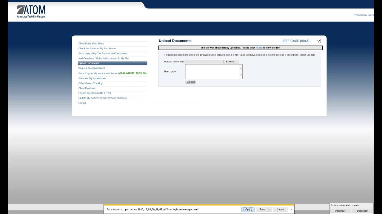 Moore's Income Tax Services Home Page - My ASP NET Application