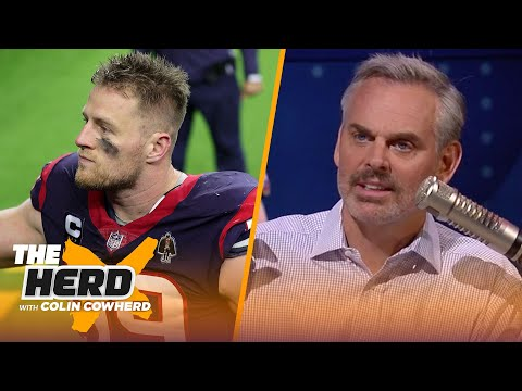 Colin Cowherd breaks down J.J. Watt signing with Arizona, talks Dak & QB tiers | NFL | THE HERD