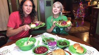 Live. Christmas Eve Epic Vegan Dinner