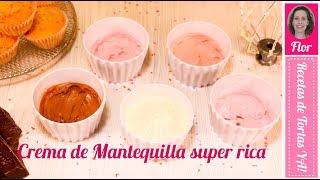 Crema de Mantequilla con Merengue Italiano - Recetas de Tortas YA!